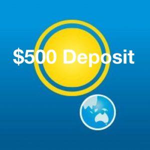 $500 Deposit for solar power