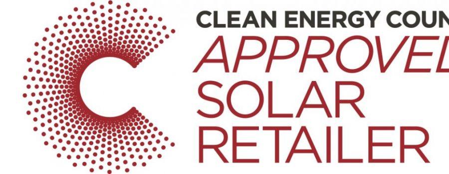 clean energy council approval solar retailer